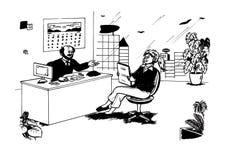 Al lavoro (2008) Immagini Stock Libere da Diritti