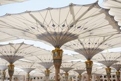 Al Madina mosque Royalty Free Stock Image