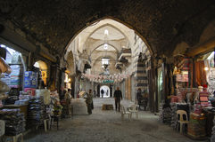 Al Madina Souq - Aleppo - Syria Royalty Free Stock Photos