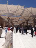 Al- Madinah Al- Al- monwarah. Saudi Arabia July.31/2014 Stock Photography