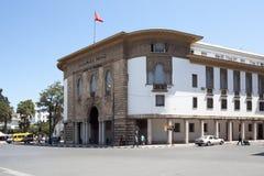 Al-Maghrib do banco de Marrocos rabat marrocos fotografia de stock royalty free
