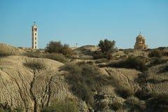 Al-Maghtas Hashemitiska konungariket Jordanien royaltyfri fotografi