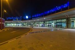 Al Maktoum International flygplats på det centrala området för Dubai värld Arkivfoto