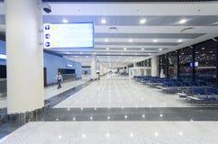 Al Maktoum International flygplats på det centrala området för Dubai värld Royaltyfria Foton