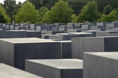 Al memoriale Berlino di olocausto Fotografia Stock