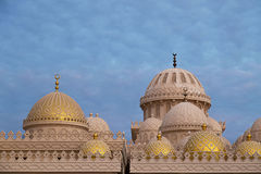 Al Mina Mosque Fotografie Stock Libere da Diritti