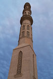 Al Mina Mosque. The Al-Mina Mosque also known as the Grand Mosque of Hurghada is the largest mosque in the city, with beautiful domes, towering minarets, and Stock Photos