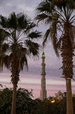 Al Mina Mosque. The Al-Mina Mosque also known as the Grand Mosque of Hurghada is the largest mosque in the city, with beautiful domes, towering minarets, and Stock Photo