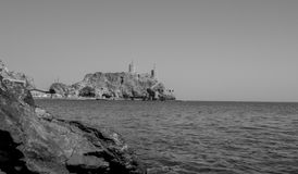 Al Mirani Fort Muscat - Oman Lizenzfreie Stockfotos