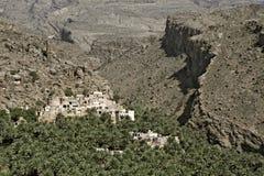 Al Misfah στα βουνά Hajar, σουλτανάτο του Ομάν στοκ φωτογραφία με δικαίωμα ελεύθερης χρήσης