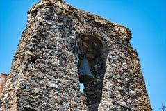 Al Monte Church de Cristo dans Paterno sicily Images stock