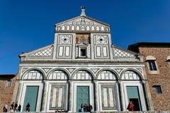 Al Monte de Florence, Toscane, Italie - de San Miniato Images stock