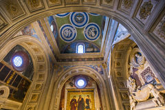 Al Monte, Florence, Italië van basilieksan miniato Royalty-vrije Stock Afbeelding