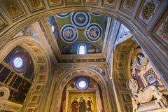Al Monte, Florence, Italie de San Miniato de basilique Image libre de droits