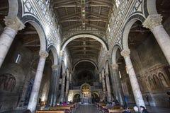 Al Monte, Florencia, Italia de San Miniato de la basílica Foto de archivo libre de regalías