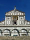 Al Monte van San Miniato kerk in Florence Italië Royalty-vrije Stock Fotografie