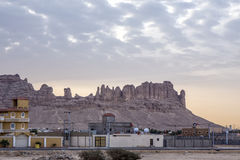 Al Moqbel Palaces. Saudi homes and Al Moqbel Palaces near Riyadh, Saudi Arabia, KSA Stock Photos
