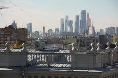 Al Moskou in één schot Royalty-vrije Stock Foto