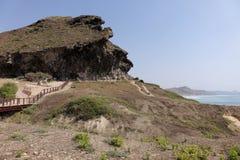Al Mughsail Salalah, Dhofar governorate, sułtanat Oman Zdjęcie Stock
