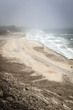 Al Mughsayl beach Royalty Free Stock Images