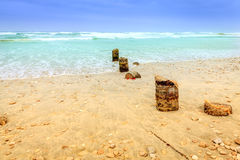 Al Mughsayl beach Stock Photography