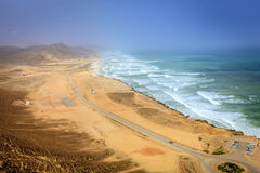 Al Mughsayl-strand Royalty-vrije Stock Fotografie