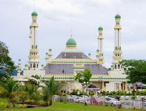 Al-Muhtadee Billah Mosque, Brunei. Stock Image