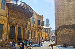 Al-Muizz street Royalty Free Stock Photography