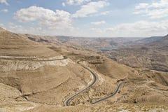 Al Mujib Wadi Στοκ Φωτογραφία