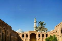 Al-Mustansiriya Universiteit, Bagdad stock foto's