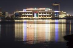 Al Naeem Mall i Ras al Khaimah Royaltyfria Bilder