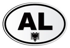 AL National Plate Fotografering för Bildbyråer