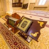 Al Noor清真寺在沙扎,阿拉伯联合酋长国 图库摄影