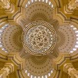 Al Noor清真寺在沙扎,阿拉伯联合酋长国 库存照片