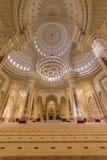 Al Noor清真寺在沙扎,阿拉伯联合酋长国 免版税库存照片