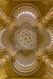 Al Noor清真寺在沙扎,阿拉伯联合酋长国 免版税库存图片