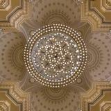 Al Noor清真寺在沙扎,阿拉伯联合酋长国 库存图片