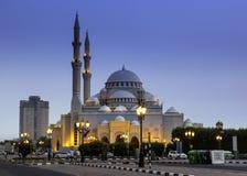 Al Noor meczet Obrazy Royalty Free