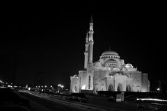 Al noor meczet Sharjah zdjęcie stock