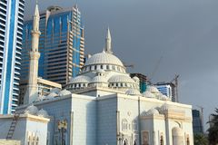 Al Noor Mosque Royalty Free Stock Photo
