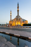 Al Noor Mosque, UAE. Royalty Free Stock Photos