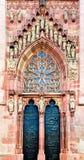 Al norte portal, Dom Sankt Bartholomäus Imágenes de archivo libres de regalías