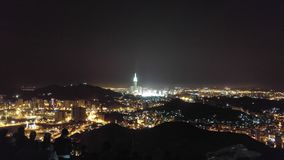 Al Nour de Jabal y torre de reloj Imagenes de archivo