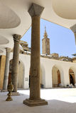 Al Omari Great Mosque in downtown Beirut Stock Images