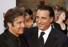 Al Pacino and Andy Garcia. Attend the 35th Annual AFI Life Achievement Award: a tribute to Al Pacino held at the Kodak Theatre in Hollywood, California on June Stock Image