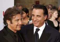 Al Pacino and Andy Garcia Stock Image