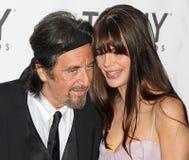 Al Pacino e Lucila Sola Fotos de Stock Royalty Free