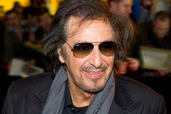 Al Pacino on Festival in Dublin Royalty Free Stock Photography