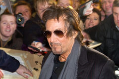 Al Pacino op première van Wilde Salome Stock Afbeeldingen