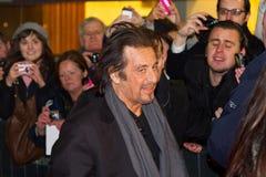 Al Pacino op première van zijn film in Dublin Royalty-vrije Stock Afbeeldingen